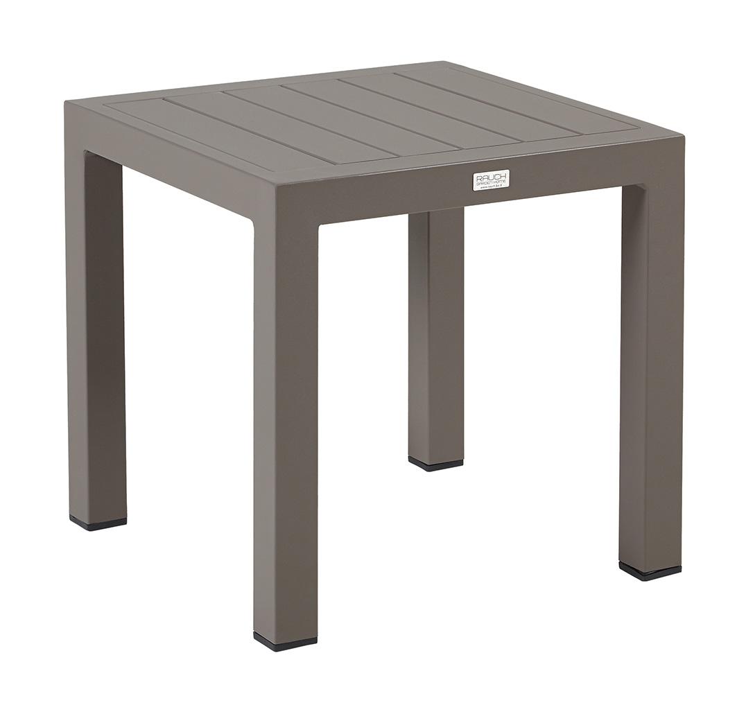 beistelltisch naomi 40x40xh40cm alu coffee. Black Bedroom Furniture Sets. Home Design Ideas
