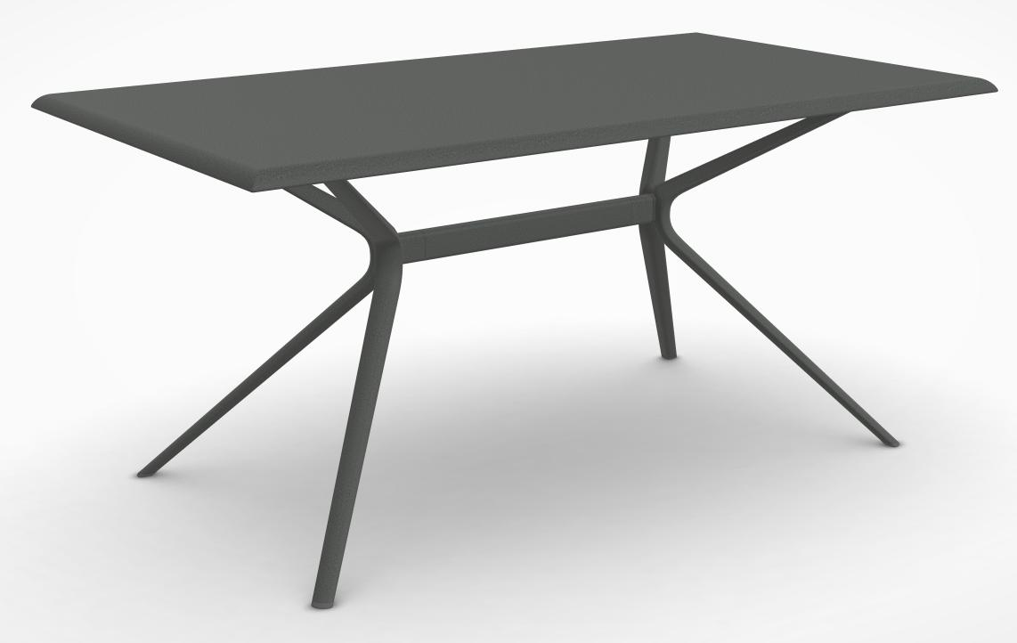 Table Moai 90X160 Alu/Anthracite