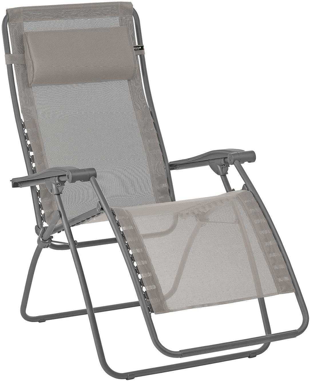 Deck Chair Rsxa-Clip Met/Titane Text/Terre 8556