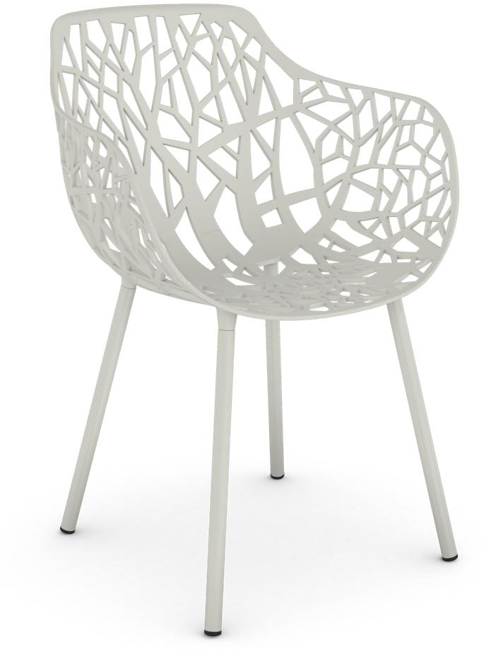 Armchair Forest White