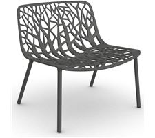 Lounge Sessel Forest Alu/Metallgrau