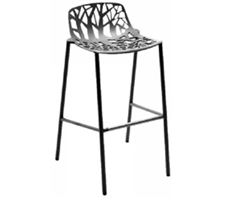 Hocker Forest Alu/Metallgrau